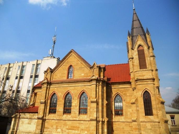 Церковь Оргеева, очарование захватывающей работы