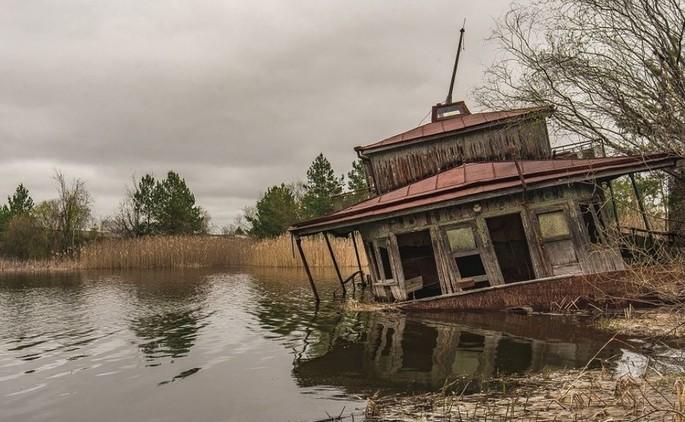 Pavel Nică e la catastrofe di Chernobyl