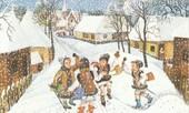 Magia sărbătorilor de iarnă la moldoveni