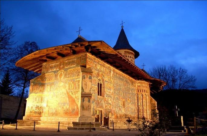 Монастырь Воронец, Сикстинская капелла Востока - Часть II